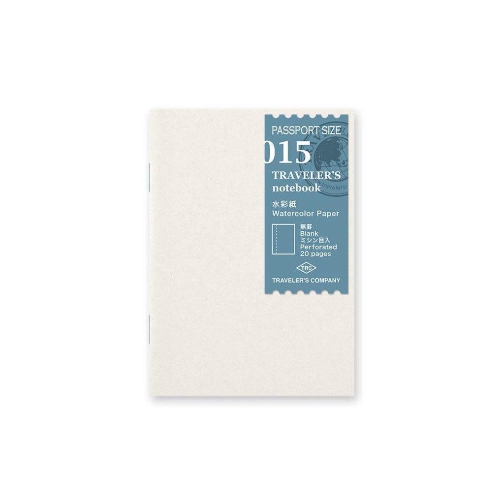 Traveler's Company Refill Watercolor Passport 015