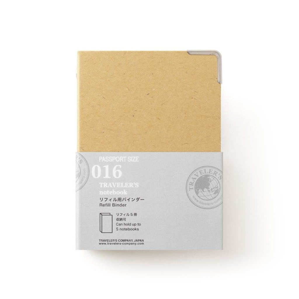 Traveler's Company Refill Binder Passport 016