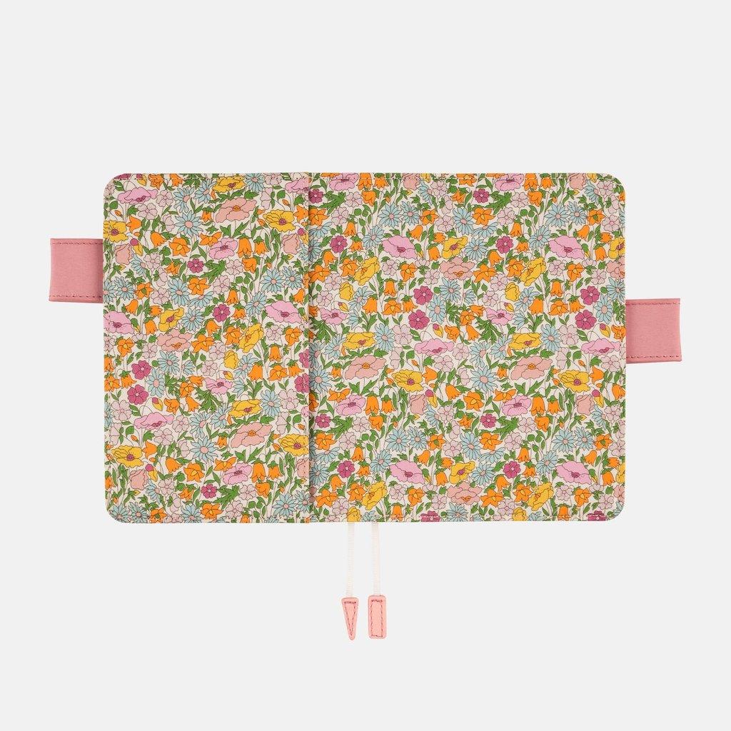 Hobonichi Hobonichi Techo 2022 A6 Liberty Fabrics: Poppy Forest
