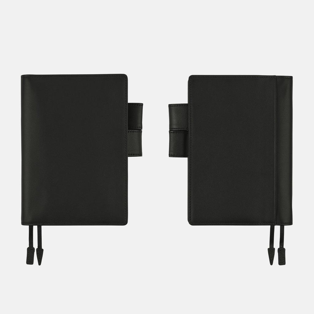 Hobonichi Hobonichi Techo 2022 A6 Leather: TS Basic Black