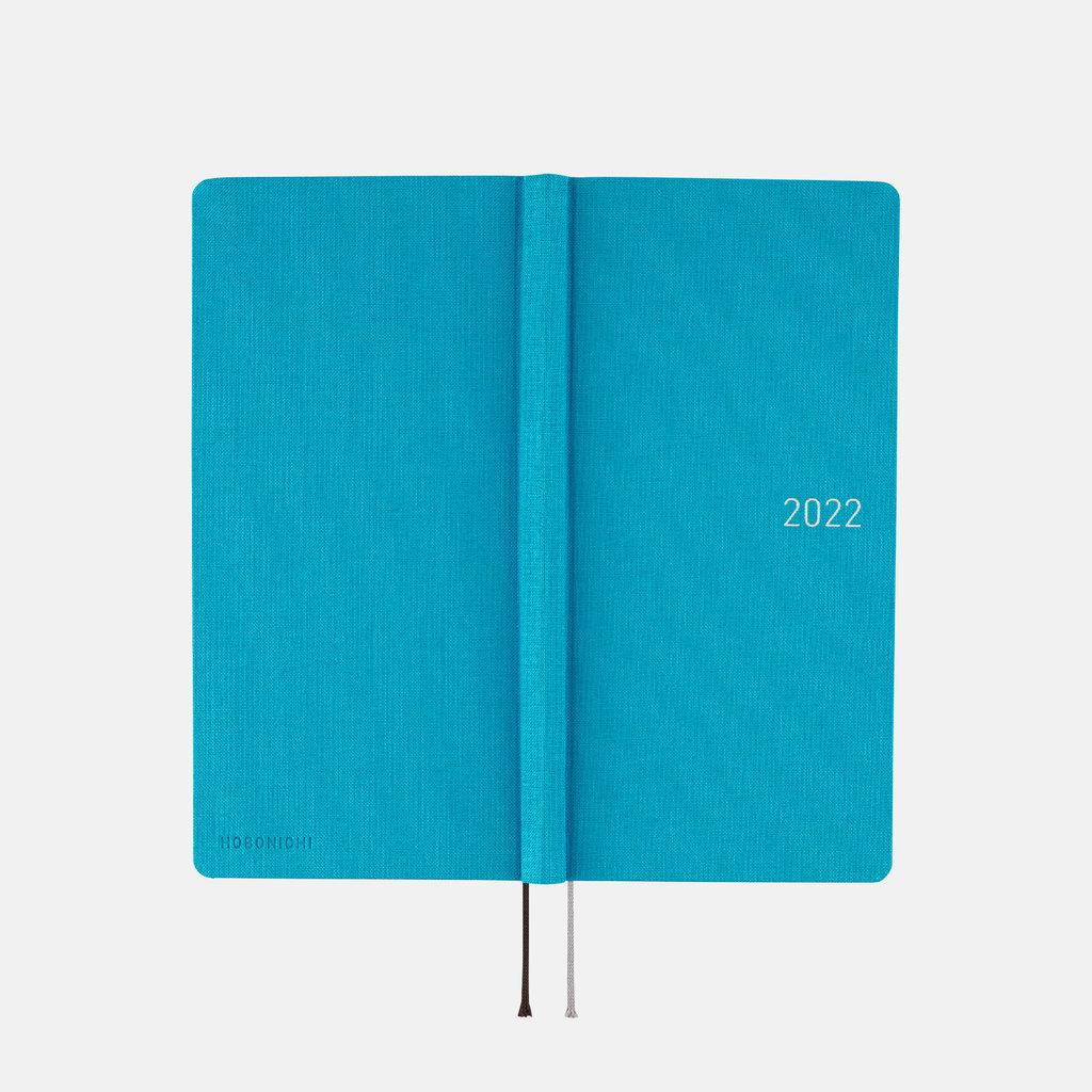 Hobonichi Hobonichi Techo 2022 Weeks Colors: Sunny Blue