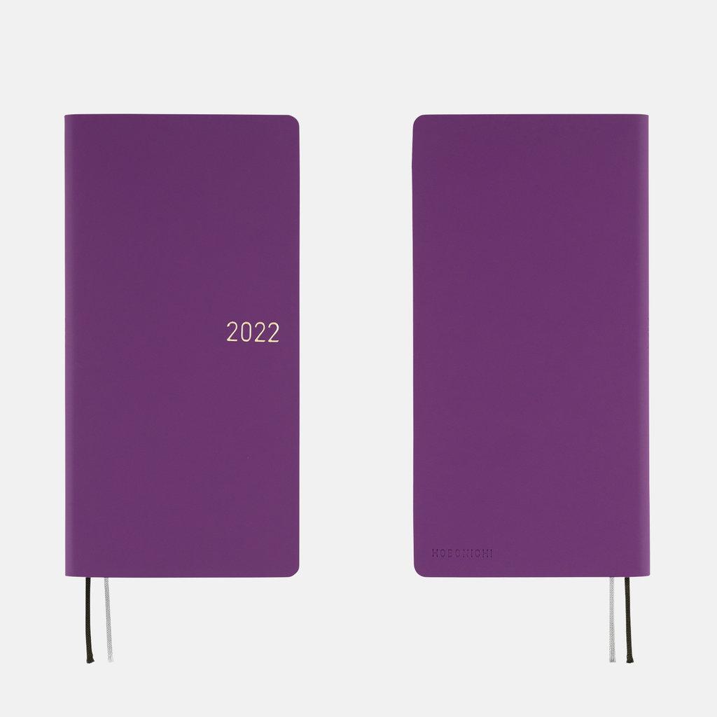 Hobonichi Hobonichi Techo 2022 Weeks Nuance: Juicy Grapes