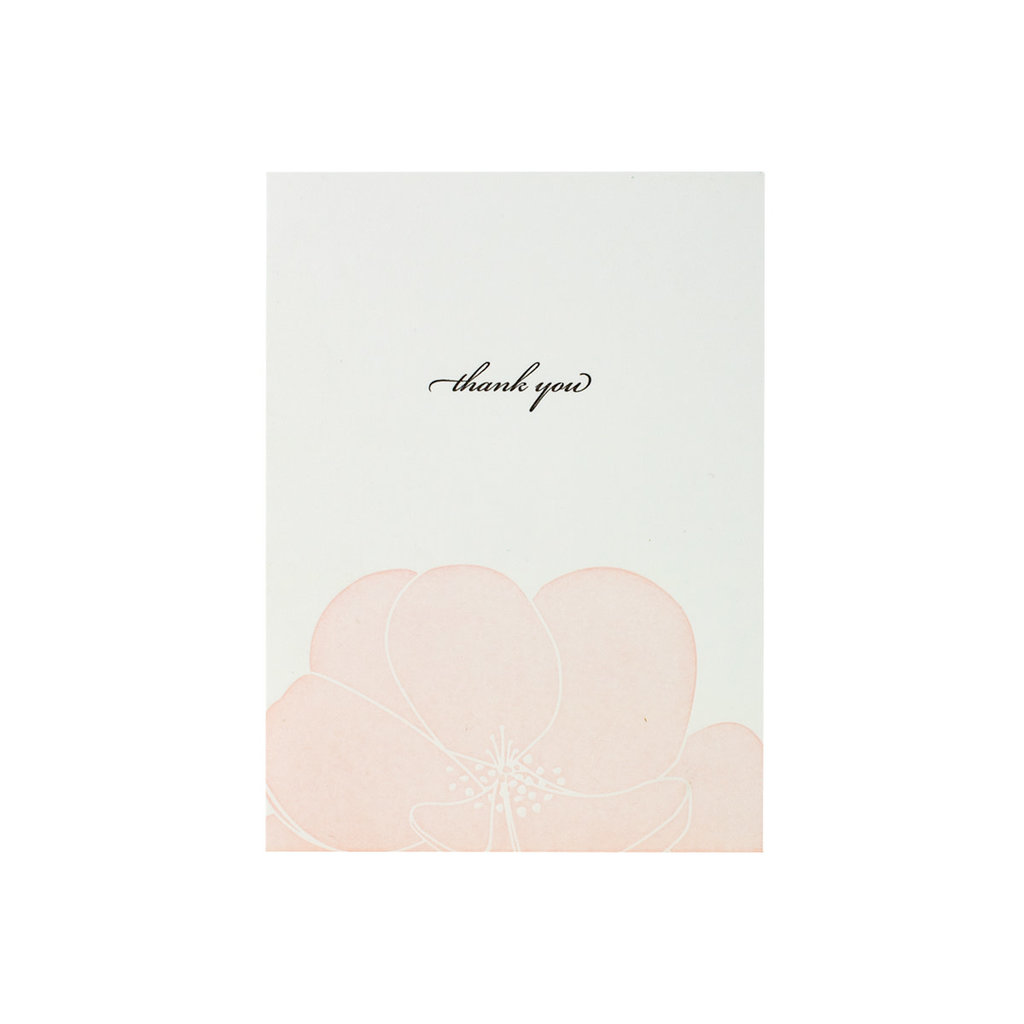 Oblation Papers & Press Thank You Pink Floral