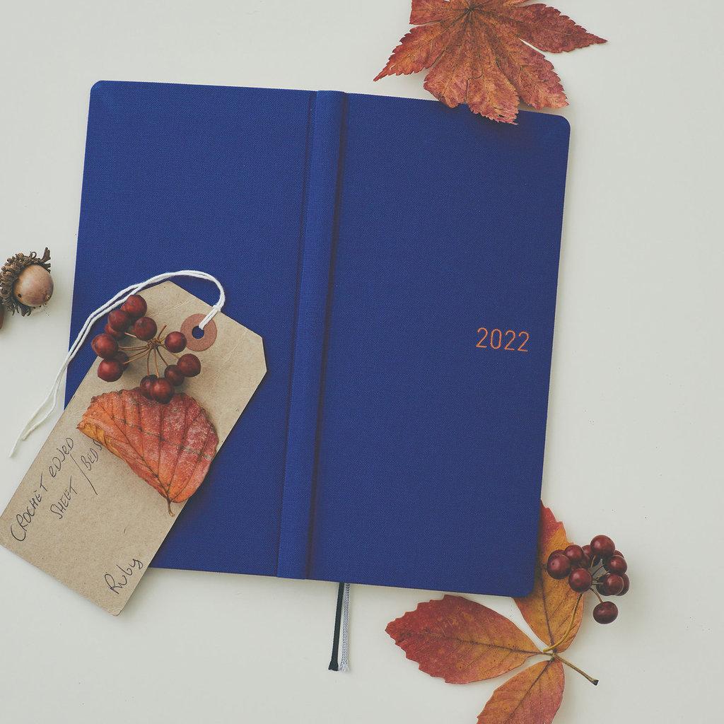 Hobonichi Hobonichi Techo 2022 Weeks Colors: Phantom Blue