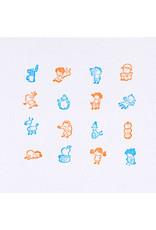 Hobonichi Hobonichi Shinsuke Yoshitake: Today's Adventure Stamp (At Home)