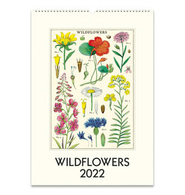 cavallini 2022 Wildflowers Wall Calendar