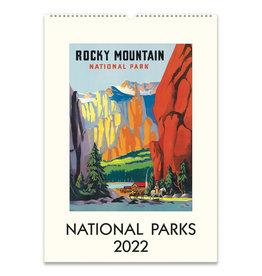 cavallini 2022 National Parks Wall Calendar