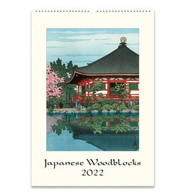 cavallini 2022 Japanese Woodblock Wall Calendar