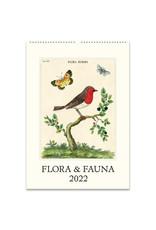 cavallini 2022 Flora and Fauna Wall Calendar