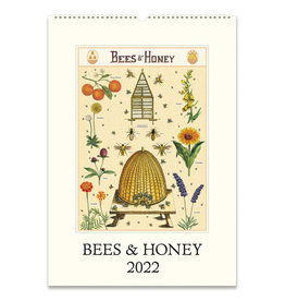 cavallini 2022 Bees and Honey Wall Calendar