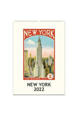 cavallini 2022 New York Wall Calendar