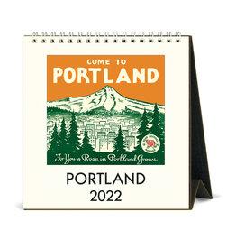 cavallini 2022 Desk Calendar Portland