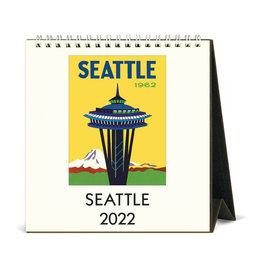 cavallini 2022 Desk Calendar Seattle