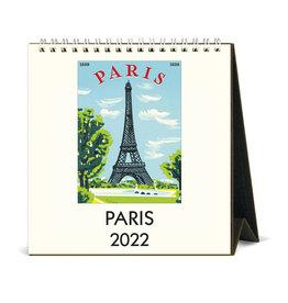 cavallini 2022 Desk Calendar Paris