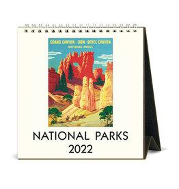 cavallini 2022 Desk Calendar National Parks