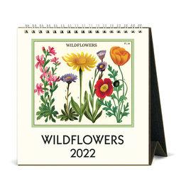 cavallini 2022 Desk Calendar Wildflowers