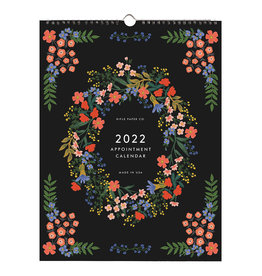 Rifle Paper 2022 Luxembourg Appointment Calendar