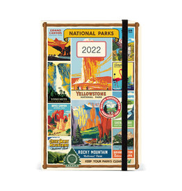 cavallini 2022 National Parks Weekly Planner