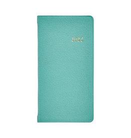 """Graphic Image 2022 6"""" Pocket Datebook Robins Egg Blue"""
