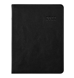 Graphic Image 2022 Desk Diary Traditional Black