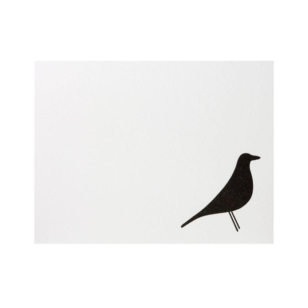 Green Bird Press Eames House Bird Letterpress Notecards - set of 6