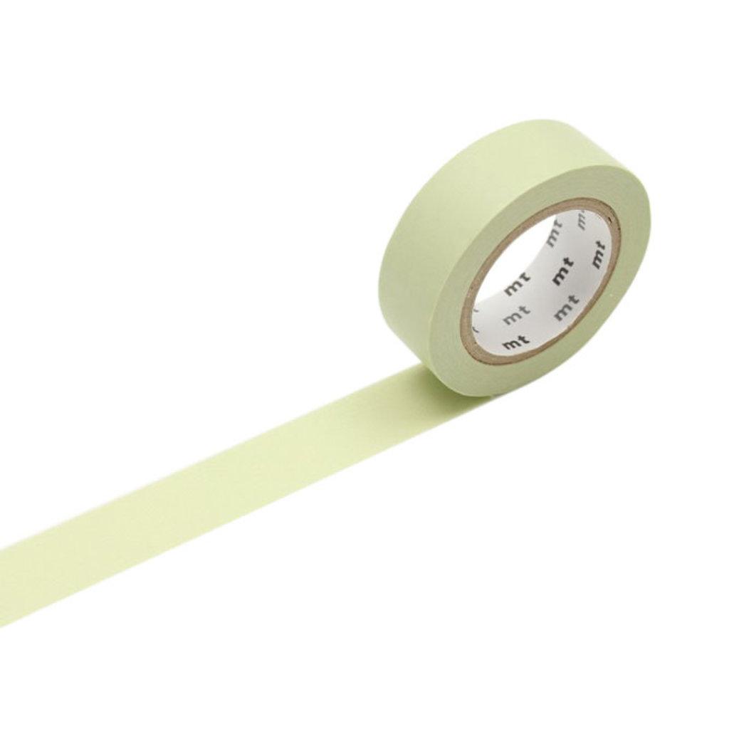 mt Pastel Olive Washi Tape