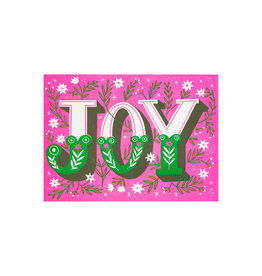 Hello! Lucky Joy Letterpress Cards Box of 6
