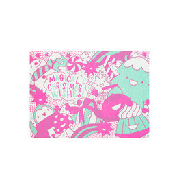Hello! Lucky Magical Christmas Letterpress Cards Box of 6