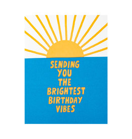 Ashkahn Brightest Birthday Letterpress Card