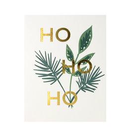 Lake Erie Design Co. Ho Ho Ho Letterpress Card