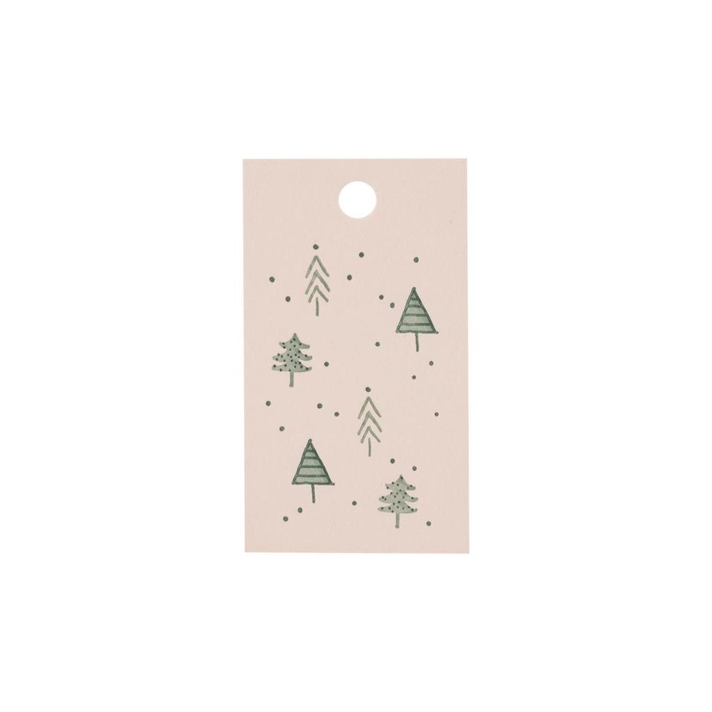 Lake Erie Design Co. Blush Holiday Letterpress GiftTag