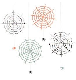 Meri Meri Halloween Large Hanging Cobwebs Decoration