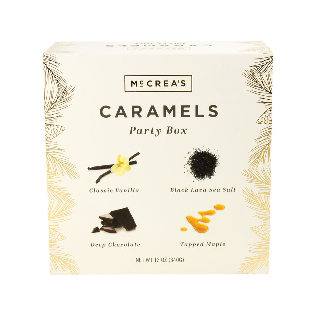 McCrea's Candies Holiday Caramels Party Box