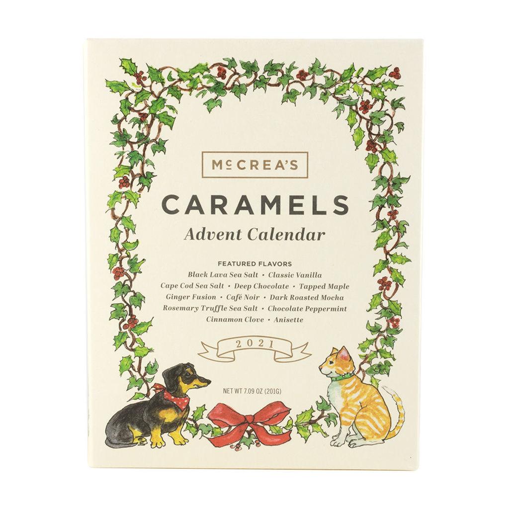 McCrea's Candies 2021 Caramels Advent Calendar