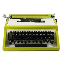 Montgomery Ward Escort 33 Green Typewriter