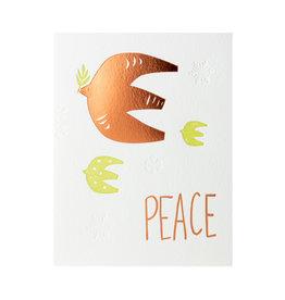 Lark Press Peace Bird Holiday Letterpress Cards Box of 6