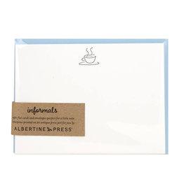 Albertine Press Coffee Letterpress Notecard Set