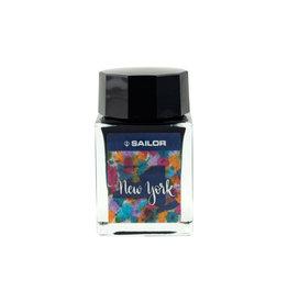 Sailor USA State Bottle - New York Ink
