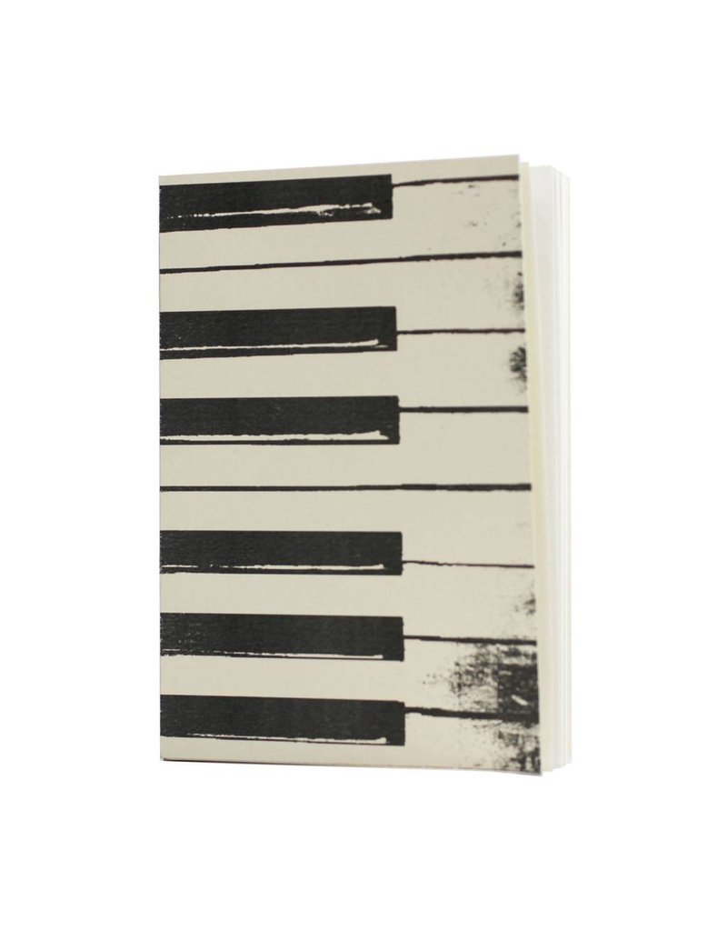 Oblation Papers & Press pocket journal - piano