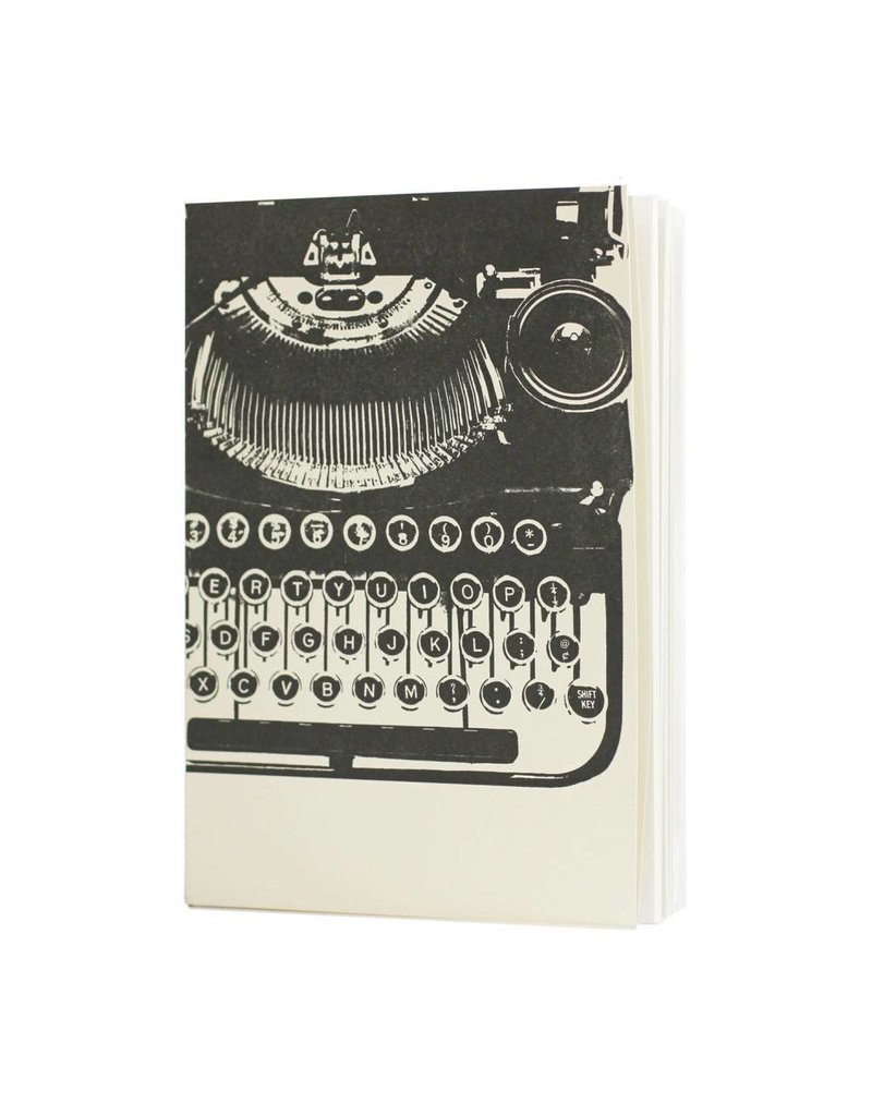 Oblation Papers & Press pocket journal - typewriter