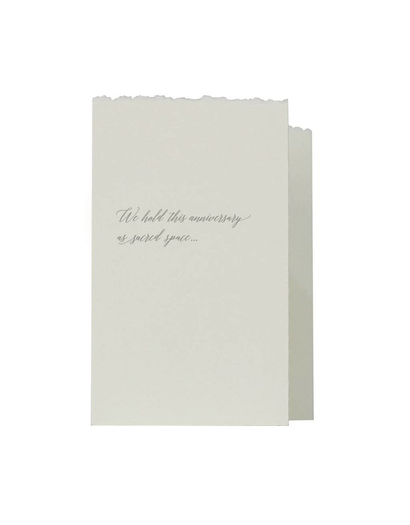 Oblation Papers & Press accordian fold notes - anniversary