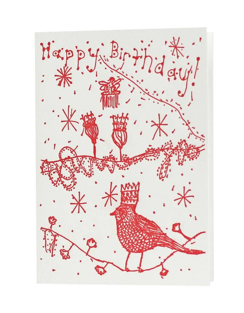 Oblation Papers & Press cards by claire - happy birthday