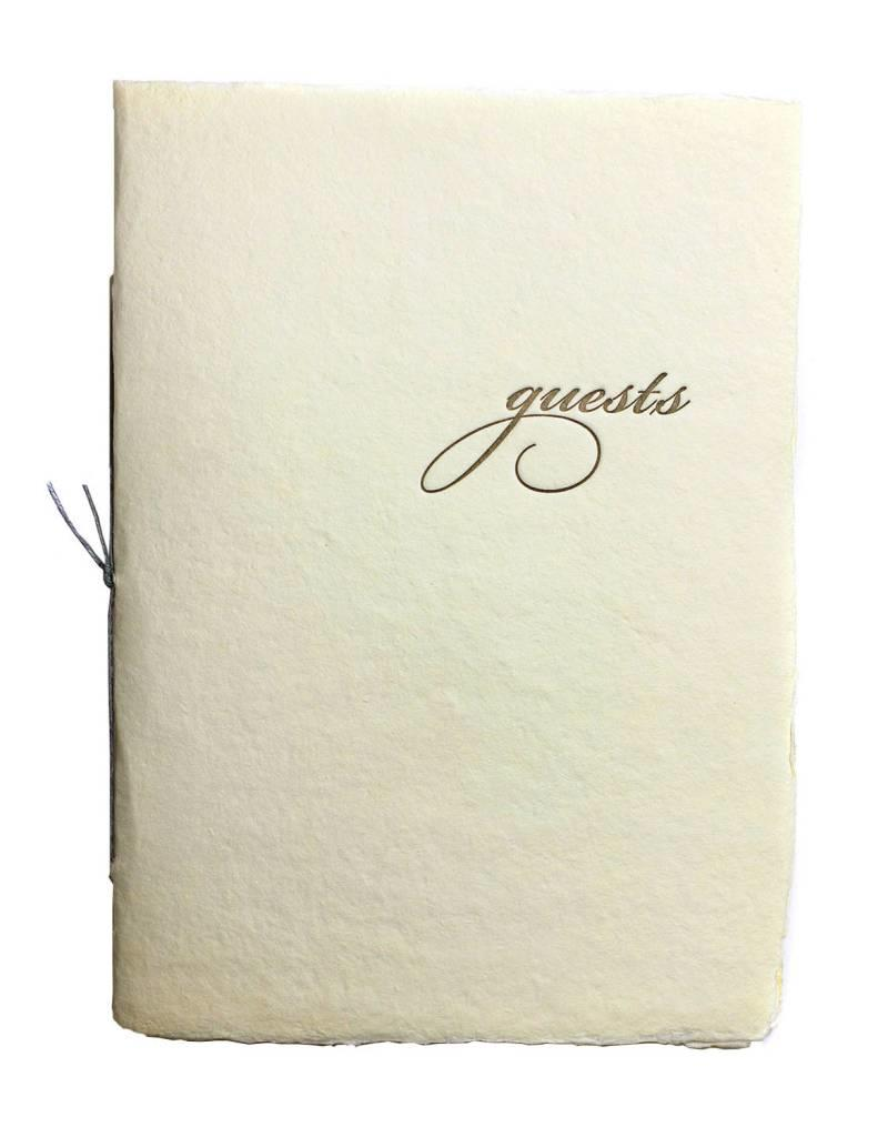 Oblation Papers & Press mini guest booklet - cream