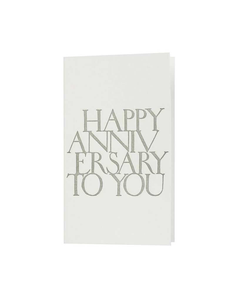 Oblation Papers & Press stonecarved greetings - anniversary