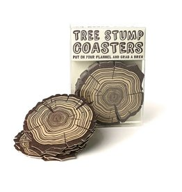 HWG Tree Stump Coasters