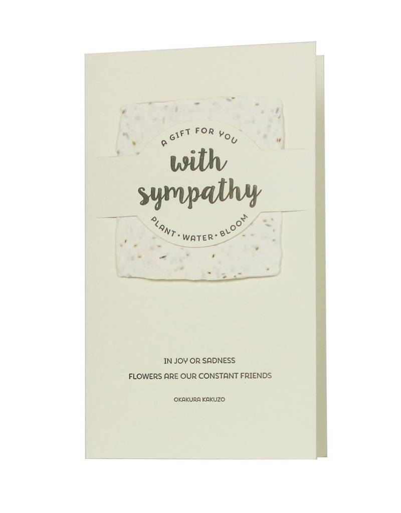 Oblation Papers & Press wildflower mix notes - with sympathy
