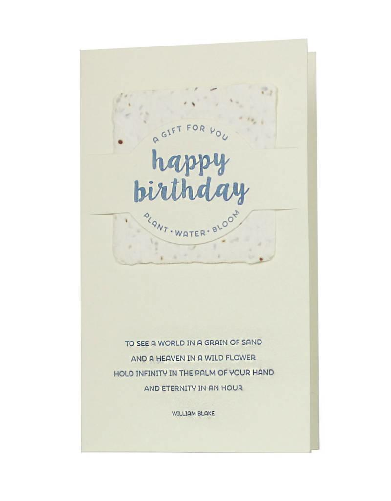 Oblation Papers & Press wildflower mix notes - happy birthday
