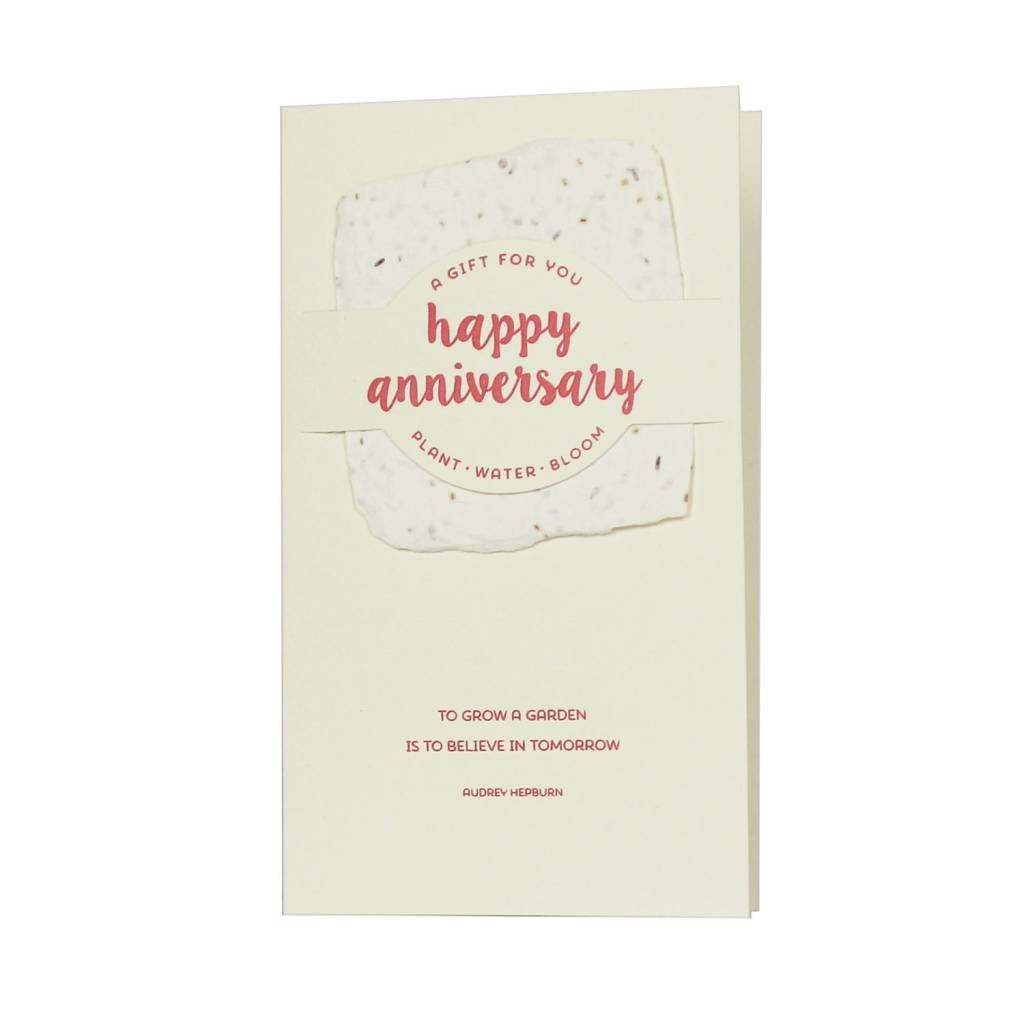 Oblation Papers & Press Happy Anniversary Wildflower Mix