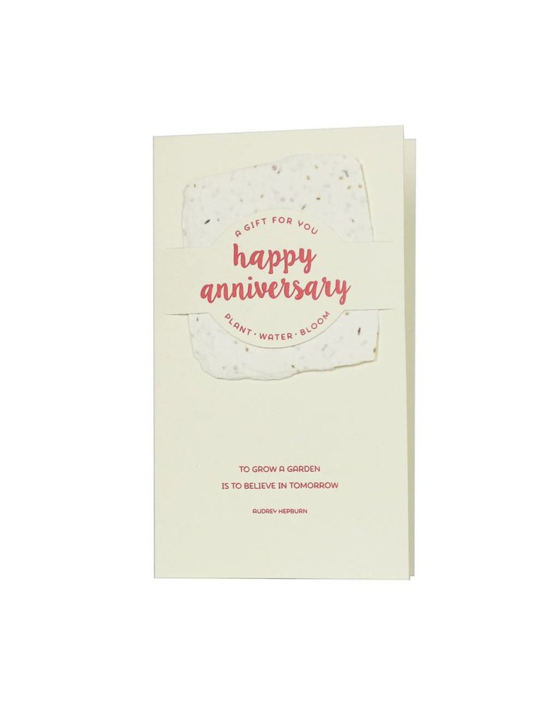Oblation Papers & Press wildflower mix notes - happy anniversary