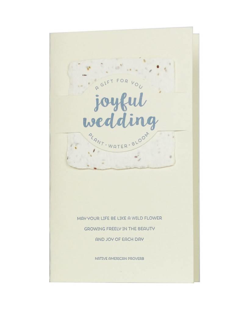 Oblation Papers & Press wildflower mix notes - joyful wedding